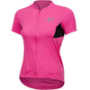 PEARL iZUMi Select Pursuit Short Sleeve Jersey Women screaming pink/black